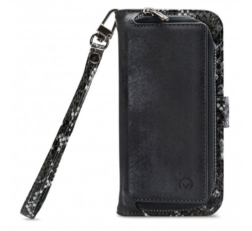 Mobilize Mobilize 2in1 Gelly Wallet Zipper Case iPhone 11 Pro Zwart/Snake