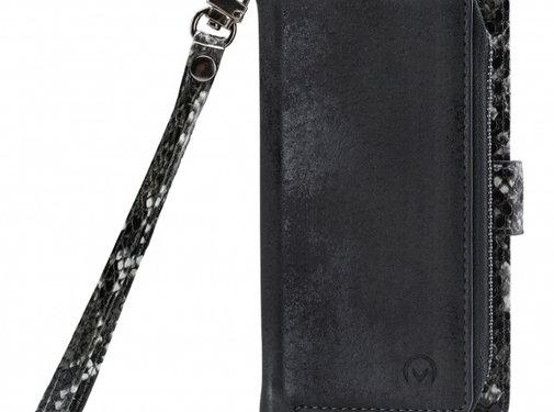 Mobilize Mobilize 2in1 Gelly Wallet Zipper Case iPhone 11 Pro Zwart/Snake
