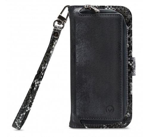 Mobilize Mobilize 2in1 Gelly Wallet Zipper Case iPhone Xs Max Zwart/Snake