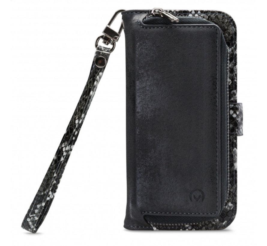 Mobilize 2in1 Gelly Wallet Zipper Case iPhone Xs Max Zwart/Snake
