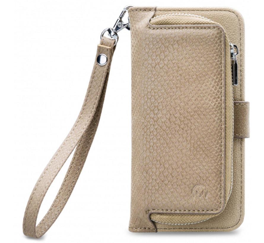 Mobilize 2in1 Gelly Wallet Zipper Case iPhone XR Latte