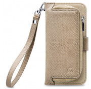 Mobilize Mobilize 2in1 Gelly Wallet Zipper Case iPhone Xs Max Latte