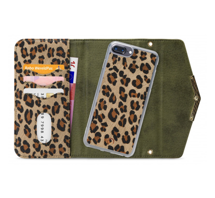 Mobilize Clutch Green Leopard iPhone 8/7/6/6s Plus
