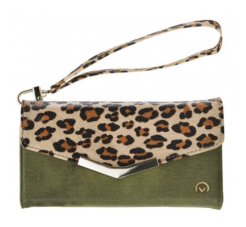 Mobilize Mobilize Clutch Green Leopard iPhone X/Xs