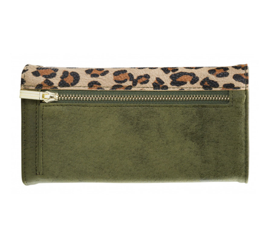 Mobilize Clutch Green Leopard iPhone Xr