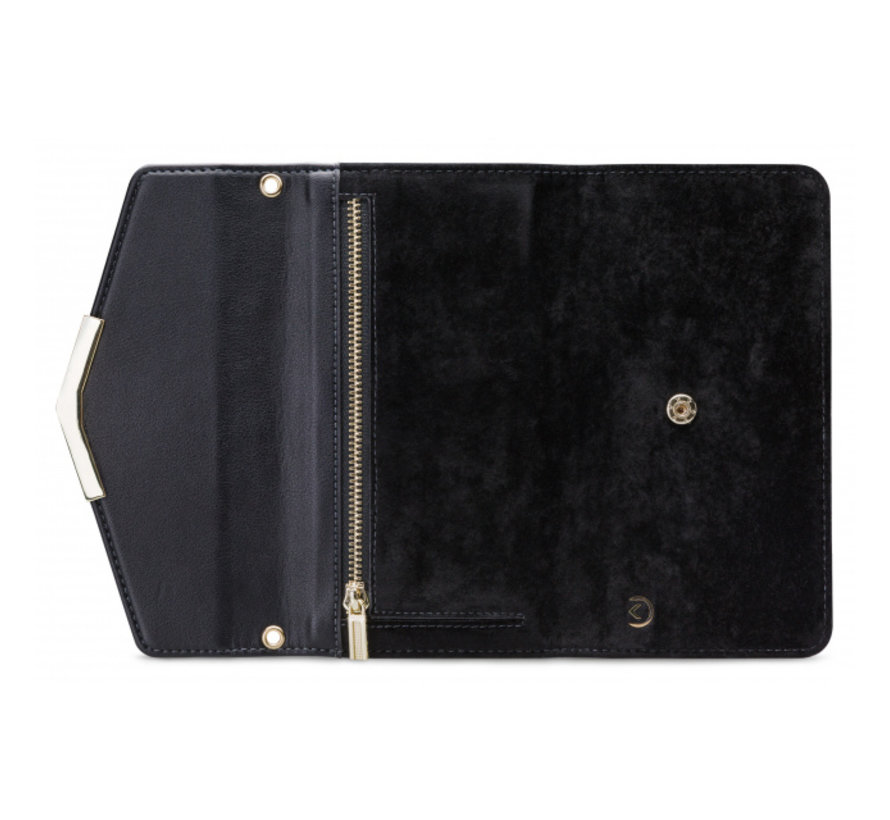 Mobilize Velvet Clutch Deep Black iPhone 11 Pro