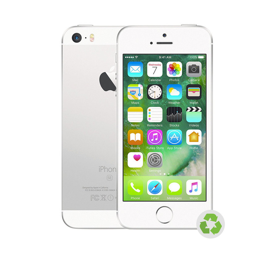 Refurbished iPhone SE Zilver A-Grade