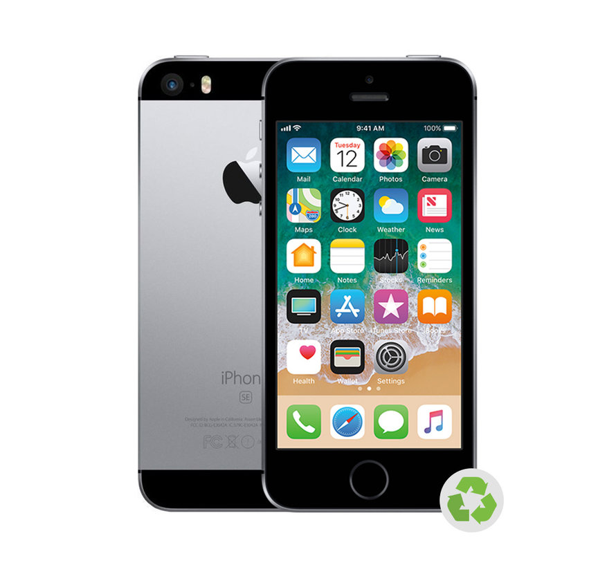 Refurbished iPhone SE Zwart B-Grade