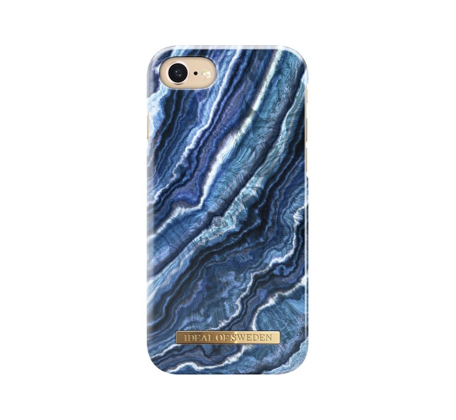 iDeal Fashion Hardcase Indigo Swirl iPhone SE 2020