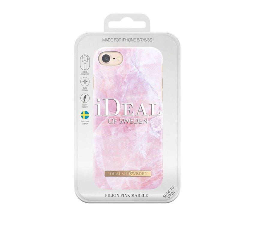 iDeal Fashion Hardcase Pilion Pink Marble iPhone SE 2020