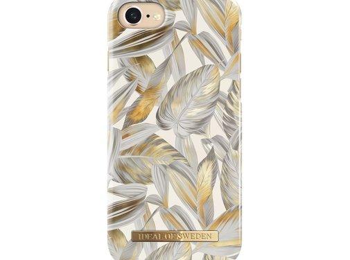 iDeal of Sweden iDeal Fashion Hardcase Platinum Leaves iPhone SE 2020