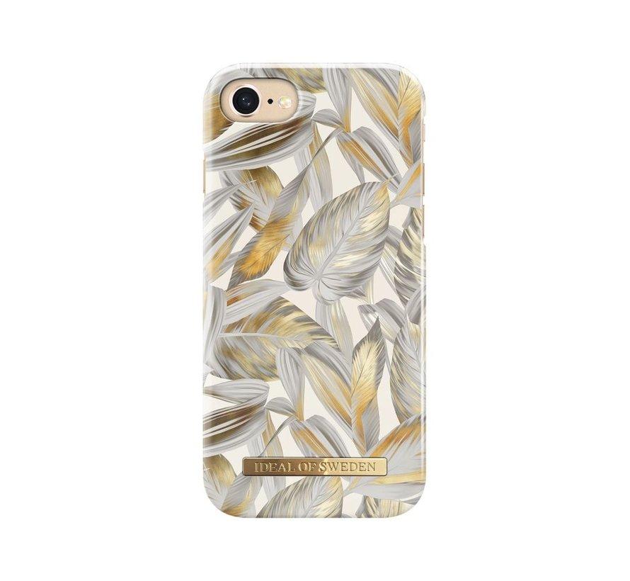 iDeal Fashion Hardcase Platinum Leaves iPhone SE