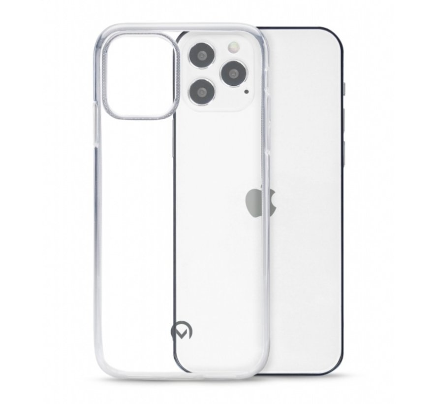 Mobilize Siliconen Case Gelly iPhone 12/12 Pro Transparant