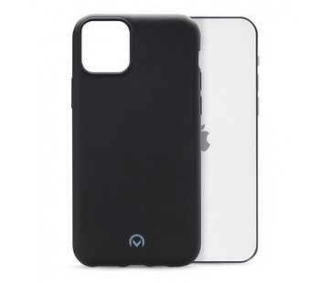 Mobilize Mobilize Siliconen Case Gelly iPhone 12/12 Pro Mat Zwart
