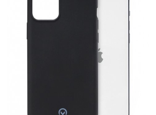 Mobilize Mobilize Siliconen Case Gelly iPhone 12/12 Pro Mat Zwart