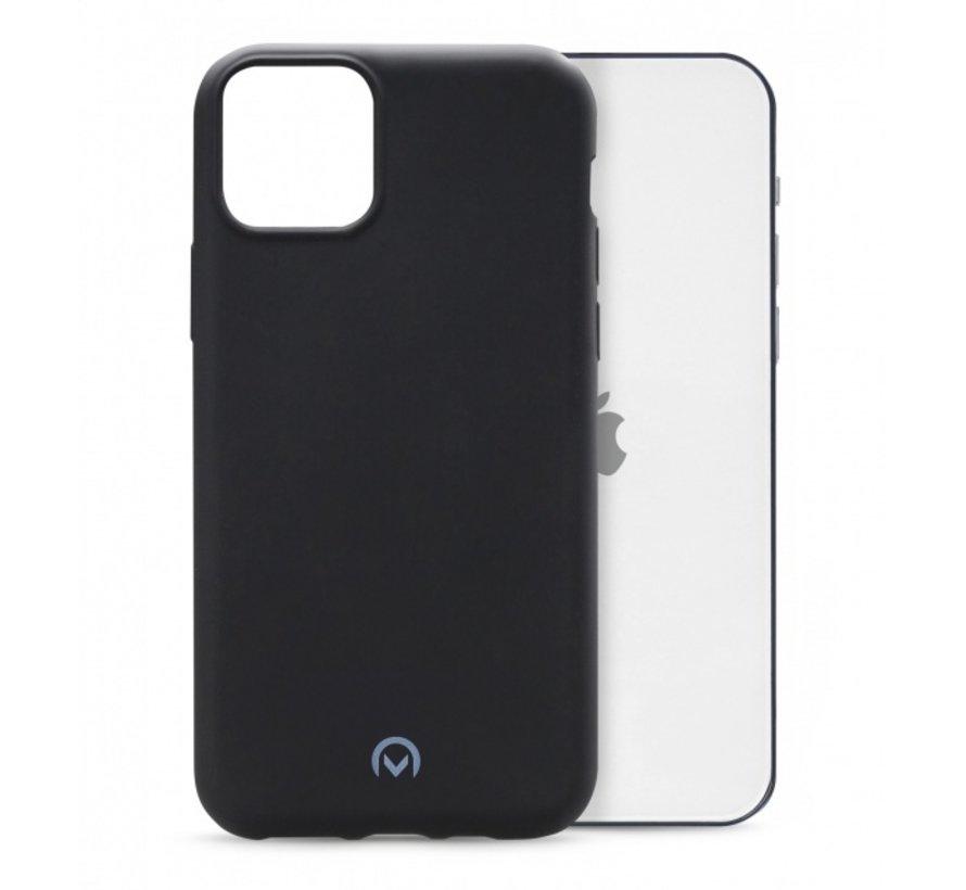 Mobilize Siliconen Case Gelly iPhone 12/12 Pro Mat Zwart