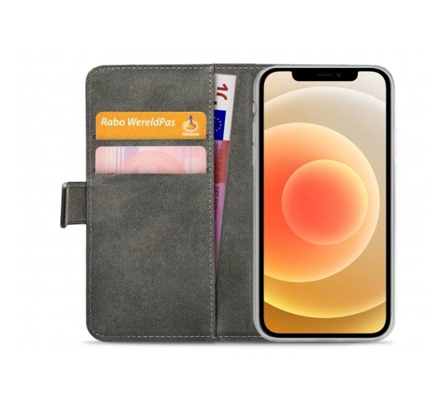 Mobilize Wallet Gelly iPhone 12/12 Pro Zwart