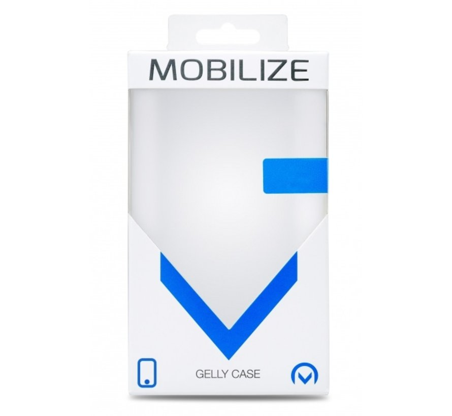 Mobilize Siliconen Case Gelly iPhone 12 Pro Max Transparant