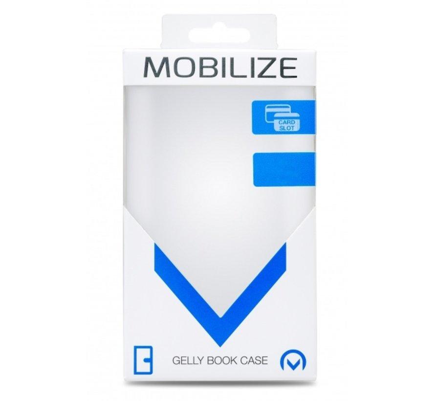 Mobilize Wallet Gelly iPhone 12 Pro Max Zwart