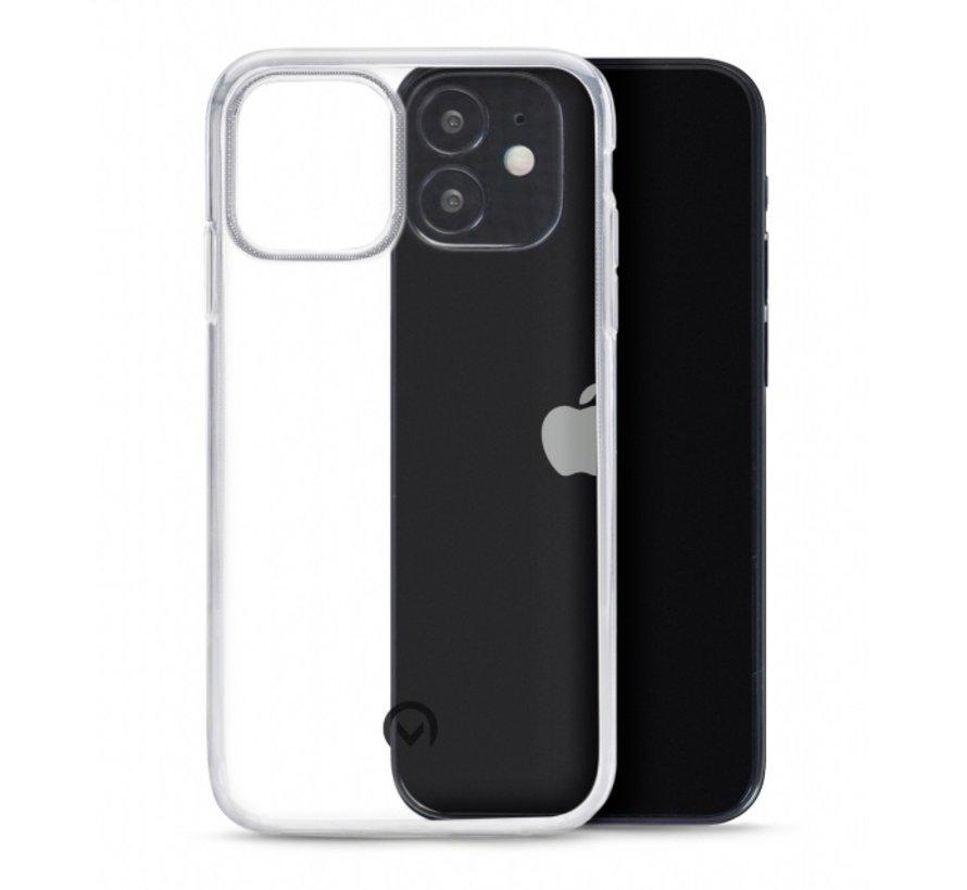 Mobilize Siliconen Case Gelly iPhone 12 Mini Transparant