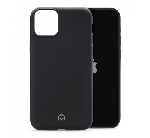 Mobilize Mobilize Siliconen Case Gelly iPhone 12 Mini Mat Zwart