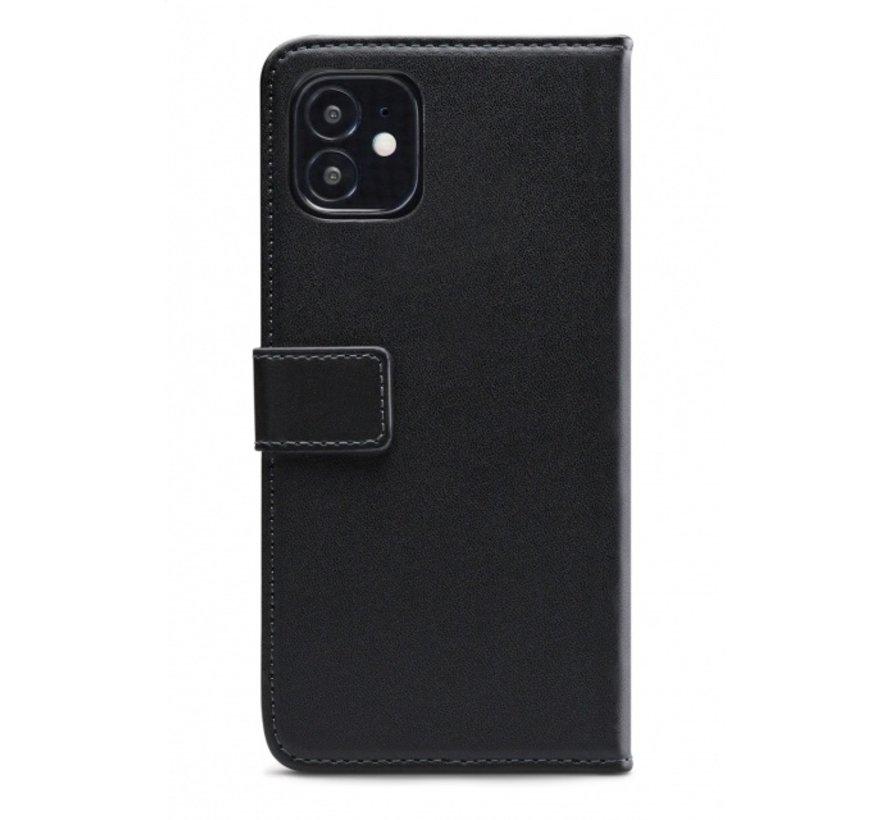Mobilize Wallet Gelly iPhone 12 Mini Zwart