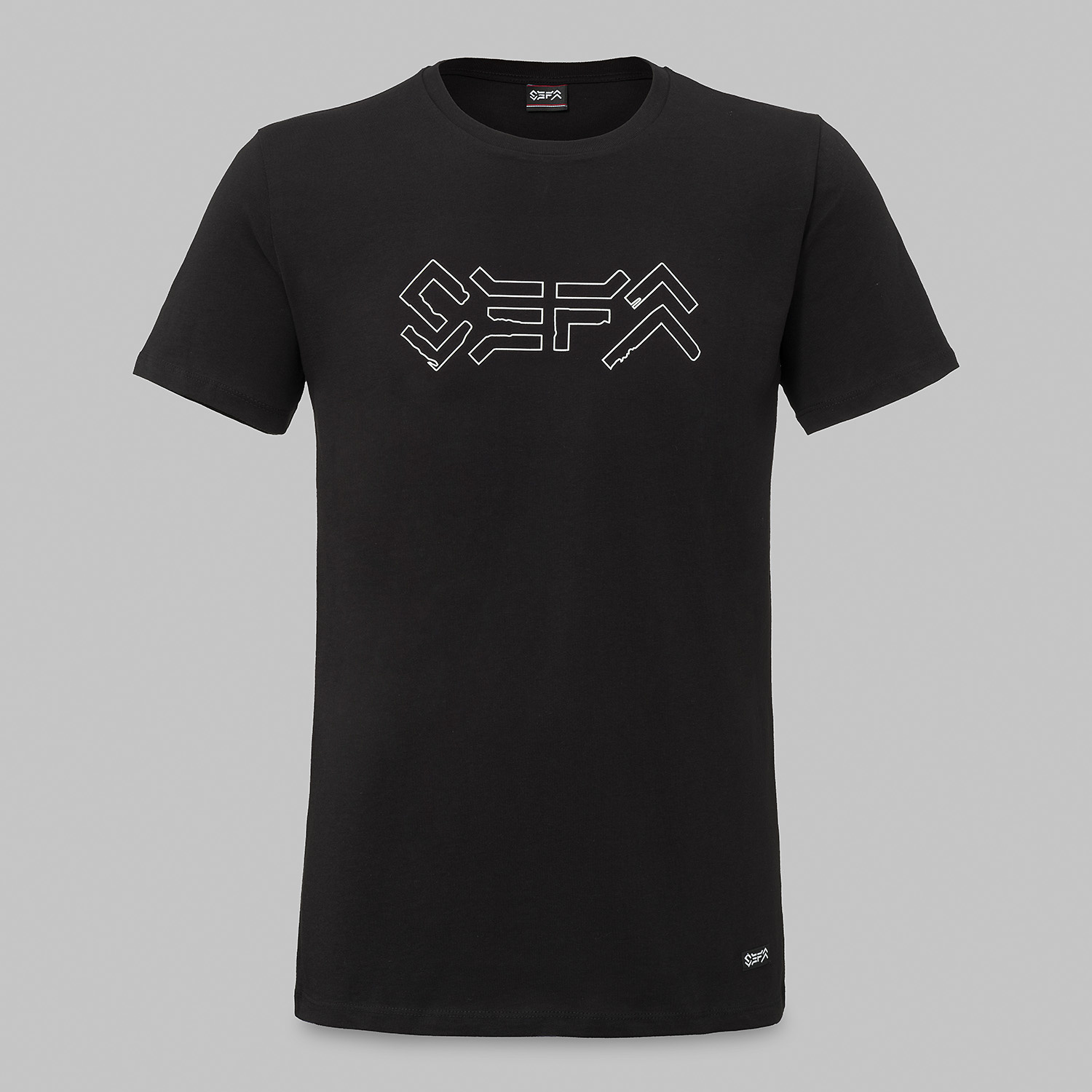 Sefa t-shirt black/white-2