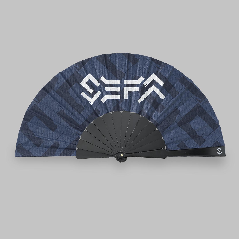 Sefa handfan navy/white-2
