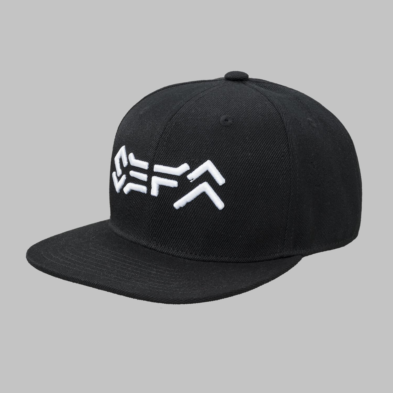 Sefa snapback black/white-2