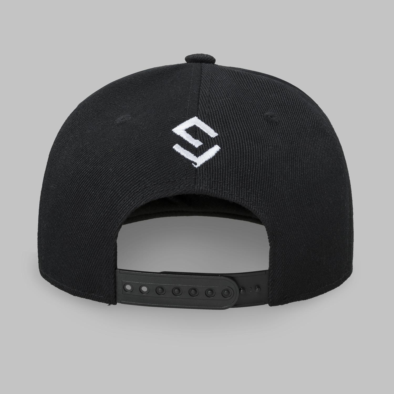 Sefa snapback black/white-3
