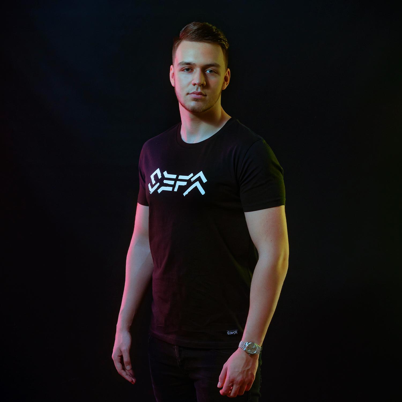 Sefa t-shirt black/white-1