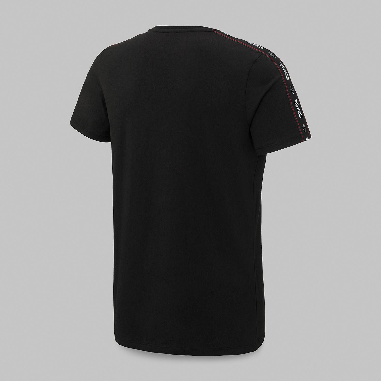 Sefa t-shirt black/tape-3