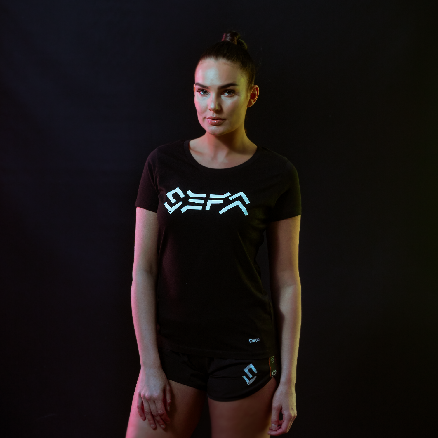 Sefa t-shirt black/white-1
