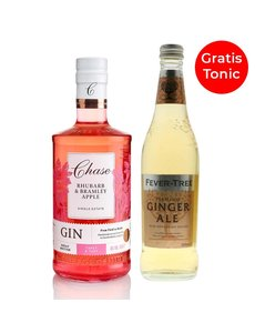 Chase Chase Rhubarb & Apple Gin and Tonic Bundle