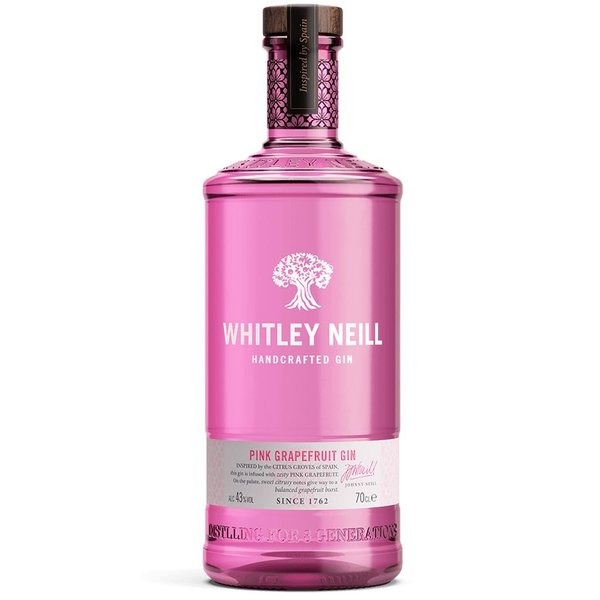 Whitley Neill Whitley Neill Handcrafted Pink Grapefruit Gin 70cl