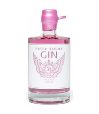 58 Gin 58 Pink Gin - Apple & Hibiscus 50cl