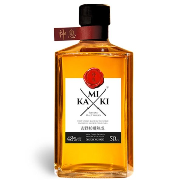 Kamiki Kamiki Japanese Blended Malt Whisky 50cl