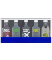 Absolut Absolut Vodka Tasting Set (5 x 5cl)