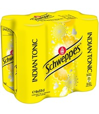 Schweppes Schweppes Indian Tonic Blikjes 6 x 330ml