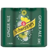 Schweppes Schweppes Ginger Ale Blikjes 6 x 330ml