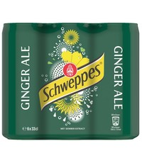 Schweppes Schweppes Ginger Ale Cans 6 x 330ml