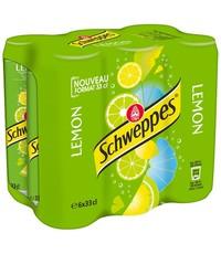 Schweppes Schweppes Lemon Blikjes 6 x 330ml