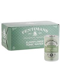 Fentimans Fentimans Elderflower Tonic Water Can 8 x 150ml