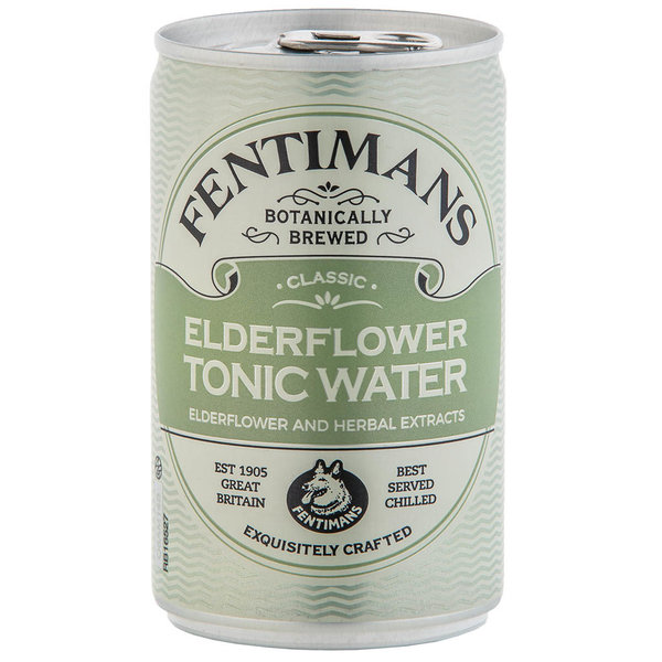 Fentimans Fentimans Elderflower Tonic Water Can 150ml