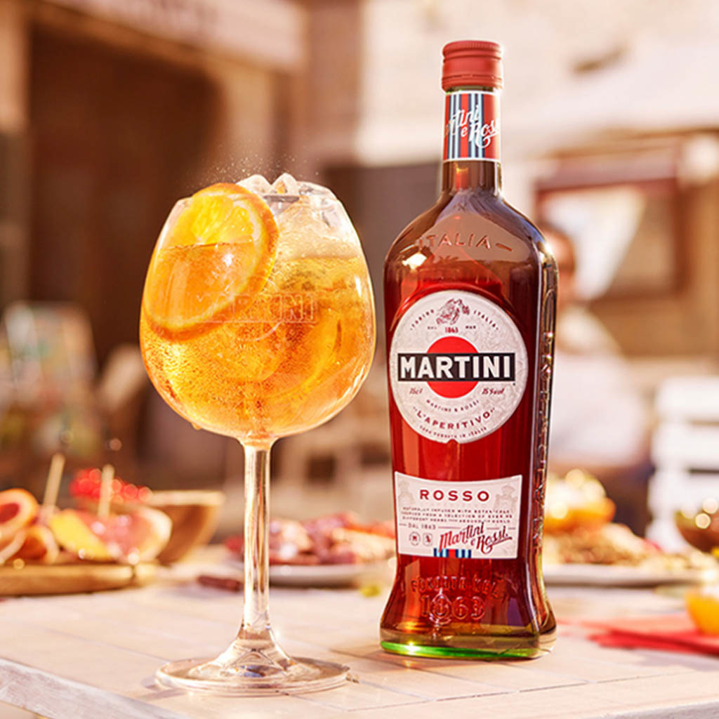 Martini Rosso Vermouth 75cl online kopen? | GinFling.eu