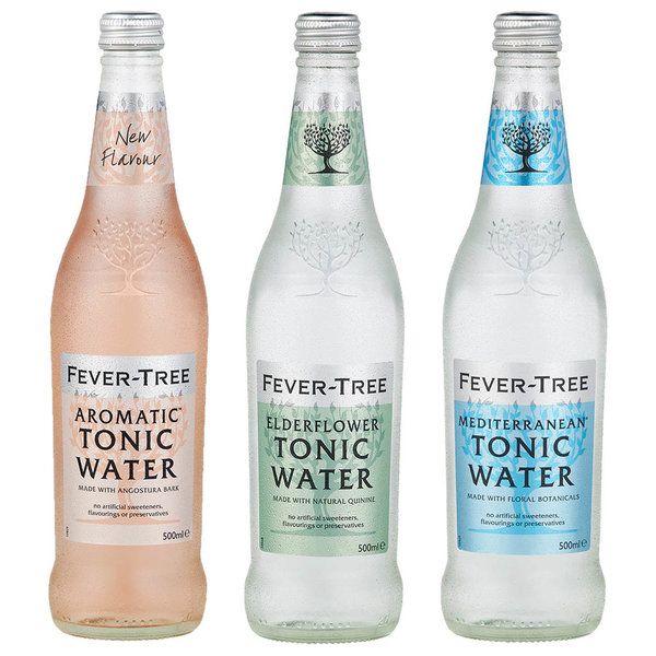Fever-Tree Fever-Tree Flavours Variety 3 Pack 500ml