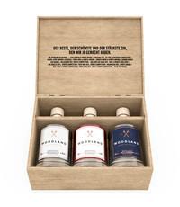 Woodland Woodland Gin Mini's Giftbox 3 x 5cl