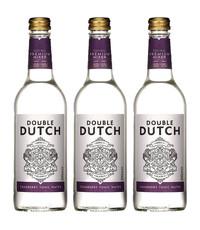 Double Dutch Double Dutch Cranberry Tonic Water 3 x 500ml