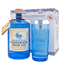 Drumshanbo Gunpowder Irish Gin 50cl & Glas Giftpack