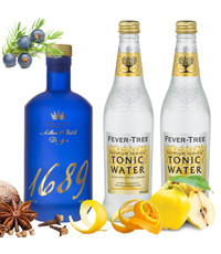 Gin 1689 Gin 1689 and Tonic Pakket 70cl & 2 x 500ml